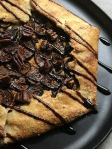 fig & goat cheese galette