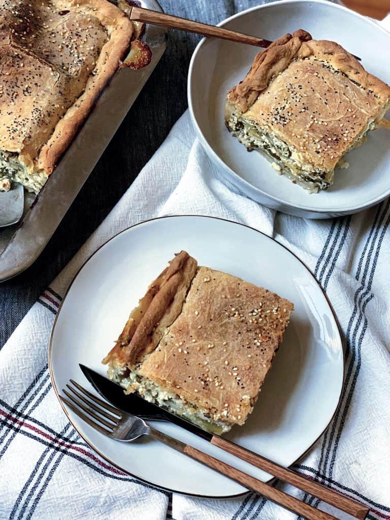 boureki - potato & zucchini pie