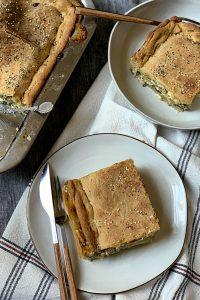 boureki – potato & zucchini pie