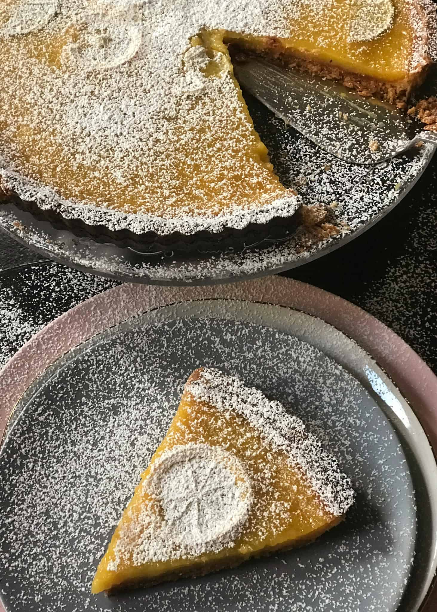 Lemon & ginger tart