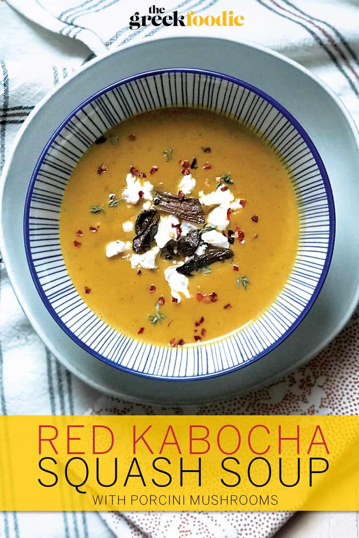 Red Kabocha Squash Soup