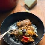 Greek Chicken with orzo