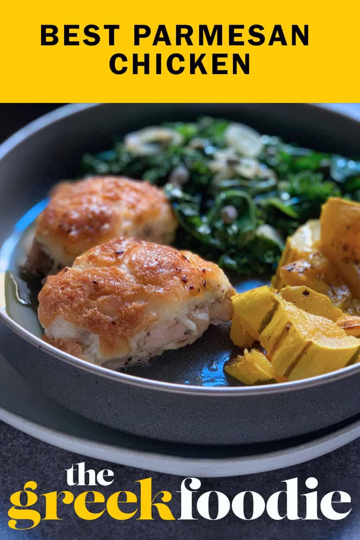 The Best Parmesan Chicken Ever
