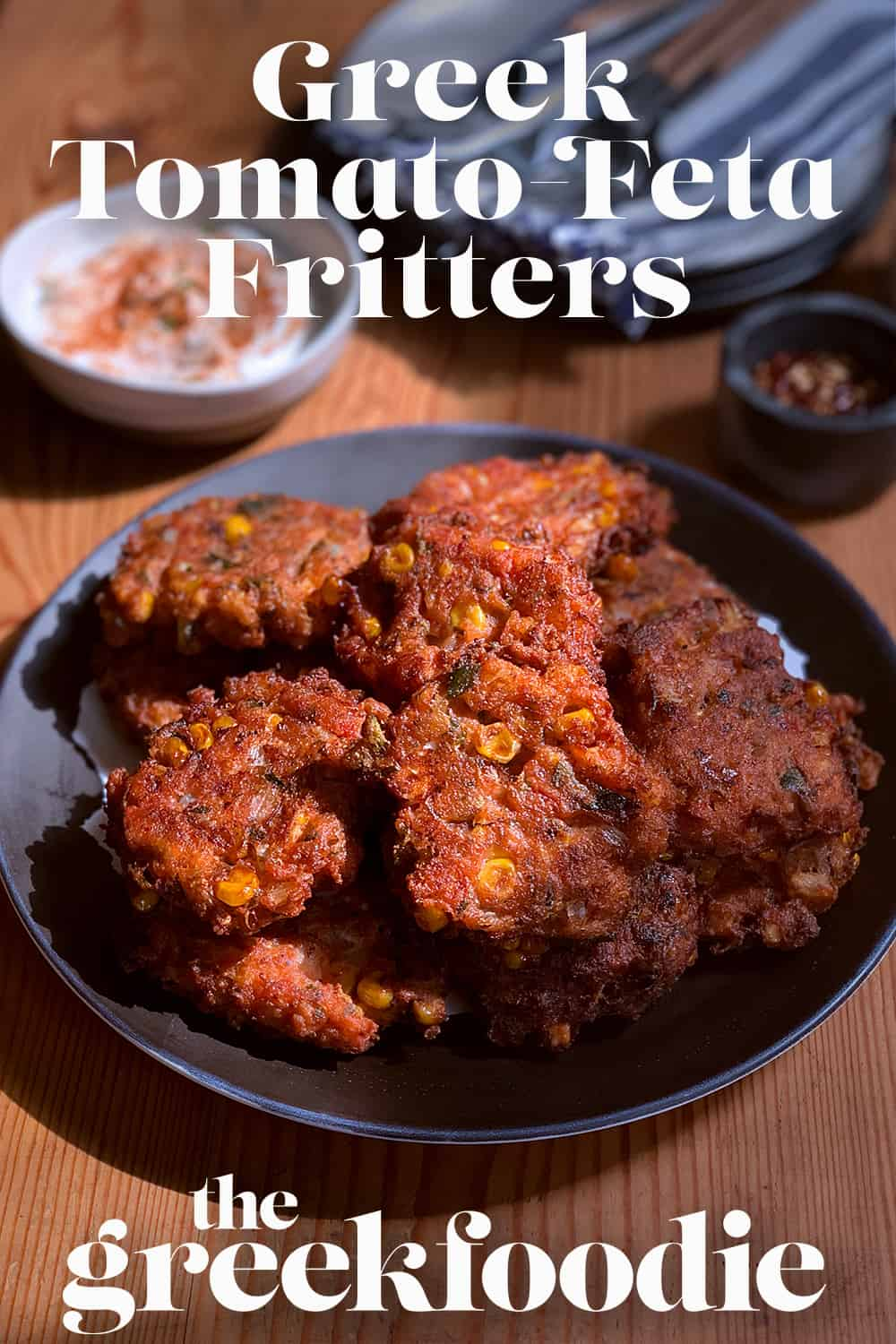 Greek Style Tomato Fritters