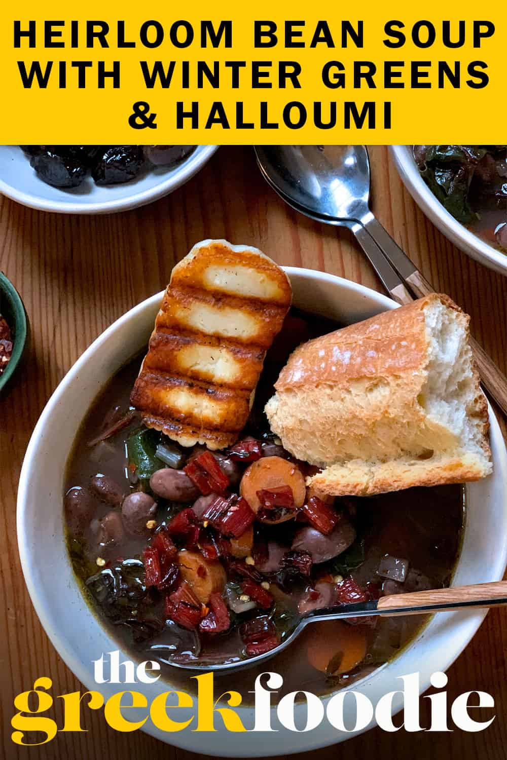 Heirloom Bean Soup & Winter Greens
