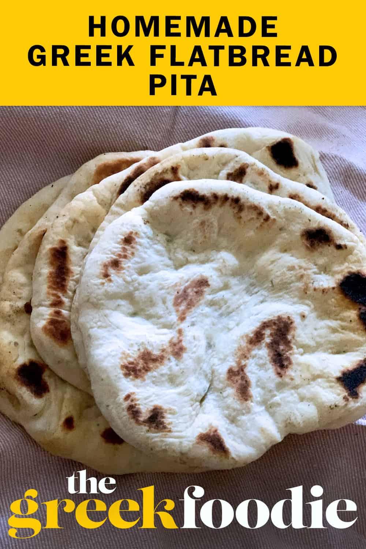 Greek Pita Bread Recipe