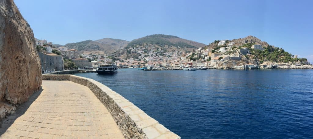 Hydra island in Greece.