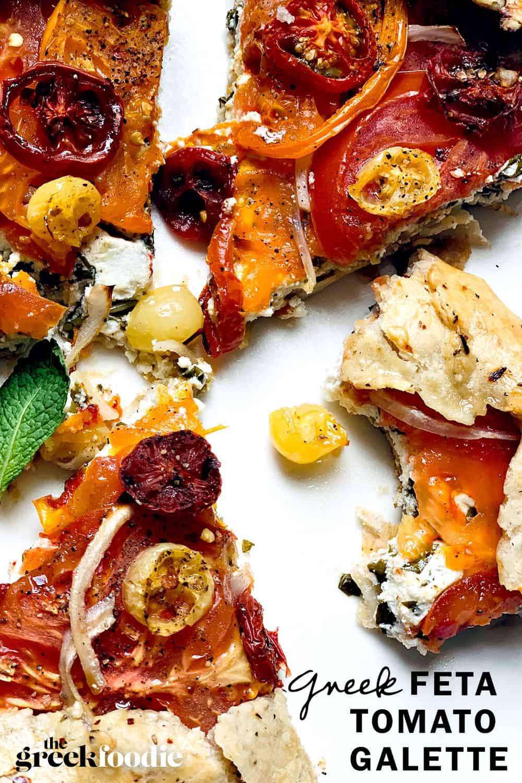 Tomato & Feta Galette