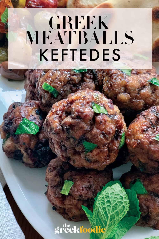 Greek Meatballs - Keftedes