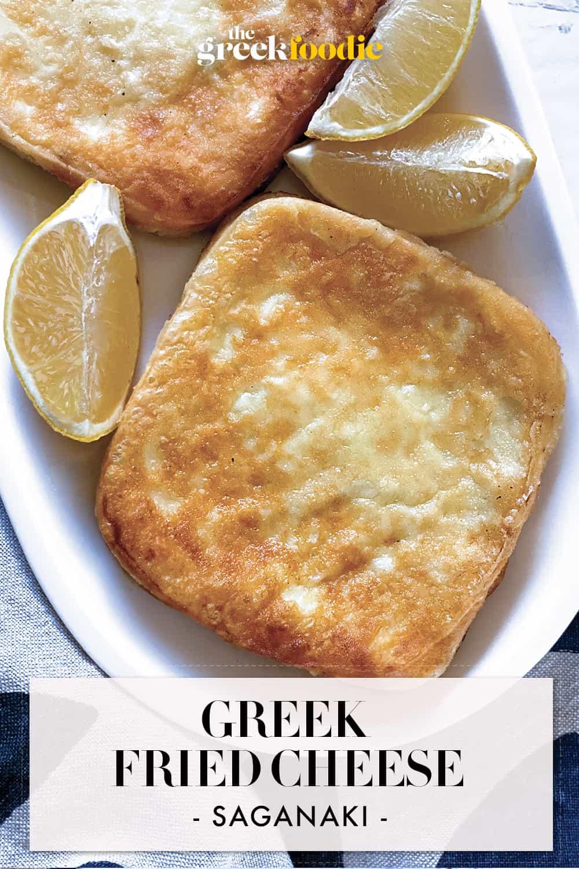 Saganaki - Greek Fried Cheese