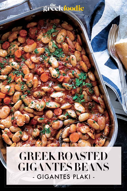 Greek Roasted Gigantes Beans