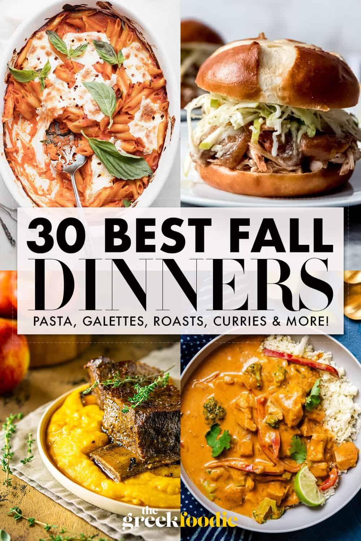 30 Best Fall Dinners
